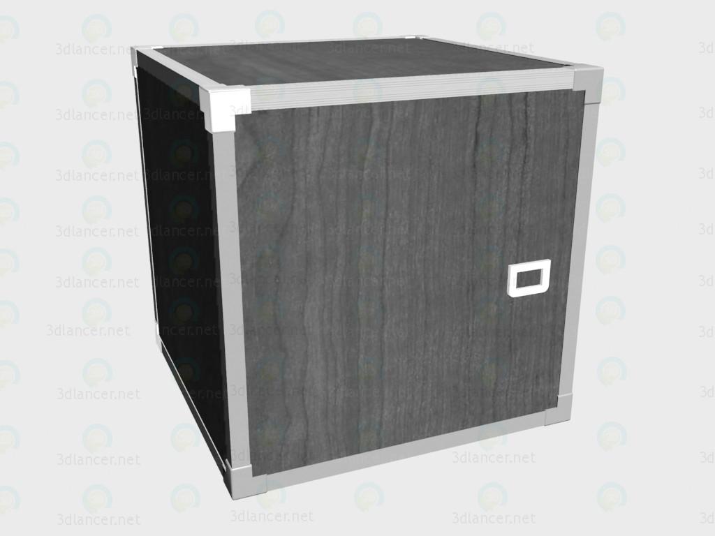 3d модель Шкафчик-кубик – превью