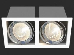 Apparecchio da incasso a LED (DL18485_02WW-SQ)
