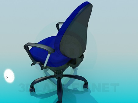 3d model Chair on wheels - preview