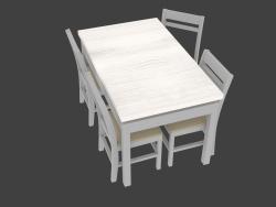 4 kişilik yemek masası