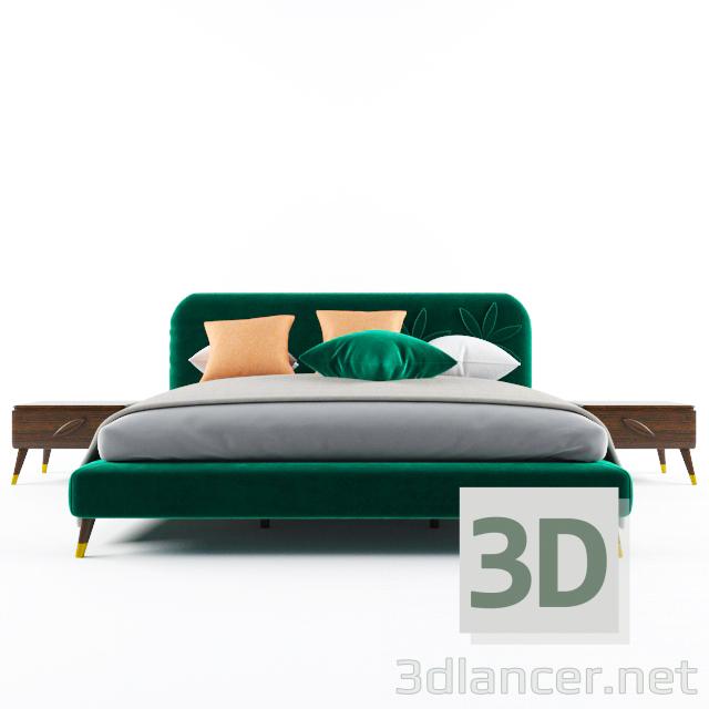 3D Aria bed modeli satın - render