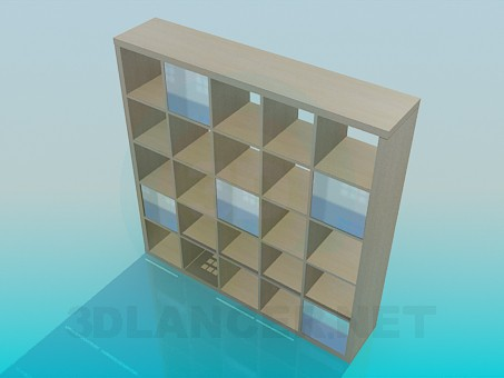 3d model Shelves - preview