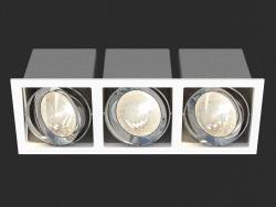Apparecchio da incasso a LED (DL18485_03WW-SQ)