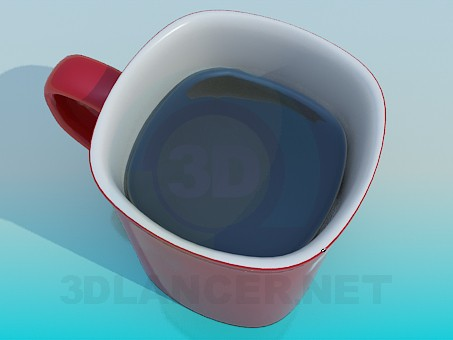 3d modeling Cap of cofe model free download