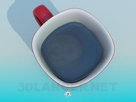modelo 3D Tapa de cofe - escuchar