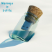 3d model Flash Drive - Message in bottle - preview