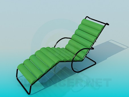 3d model Sunbed - preview