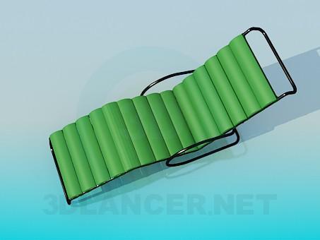 modelo 3D Tumbona - escuchar
