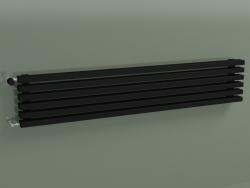 Radiateur horizontal RETTA (6 sections 1500 mm 60x30, noir mat)