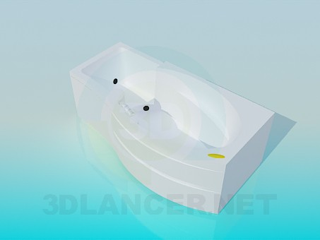3d model Bath-Jacuzzi - preview