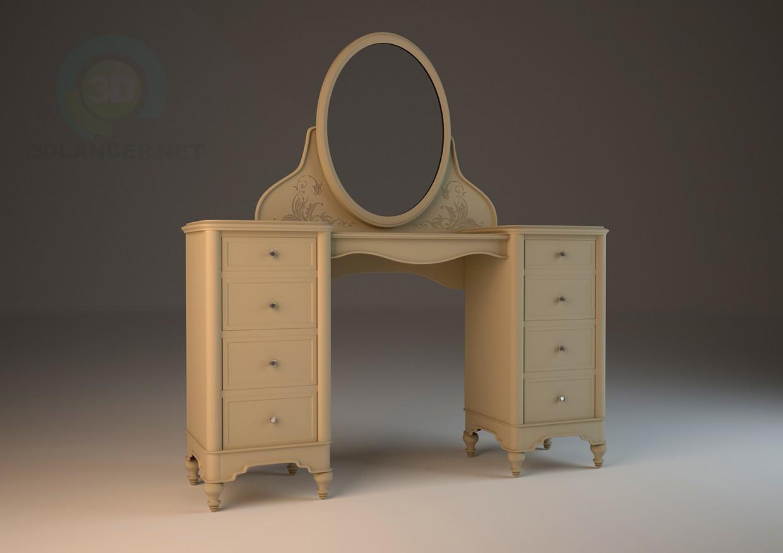3d моделювання Hooker (США) туалетний стіл модель завантажити безкоштовно