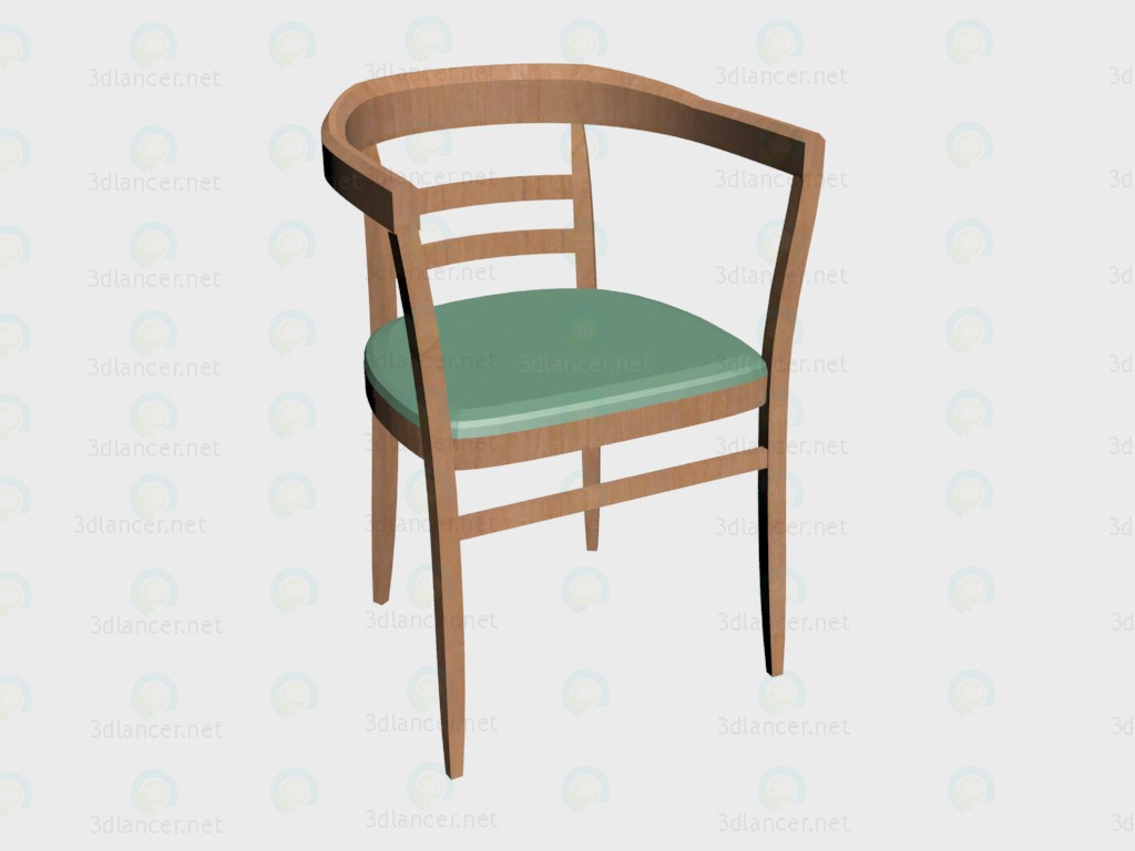 3d model Chair (b2900) VOX - preview