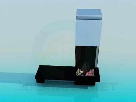 Scarica di Caminetto modello gratuito di modellazione 3D