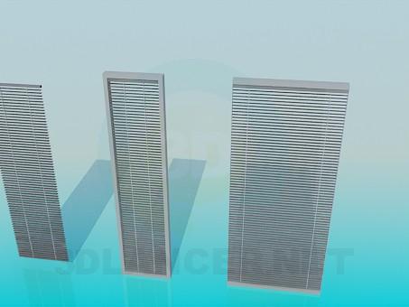 3d модель Жалюзи оконные – превью