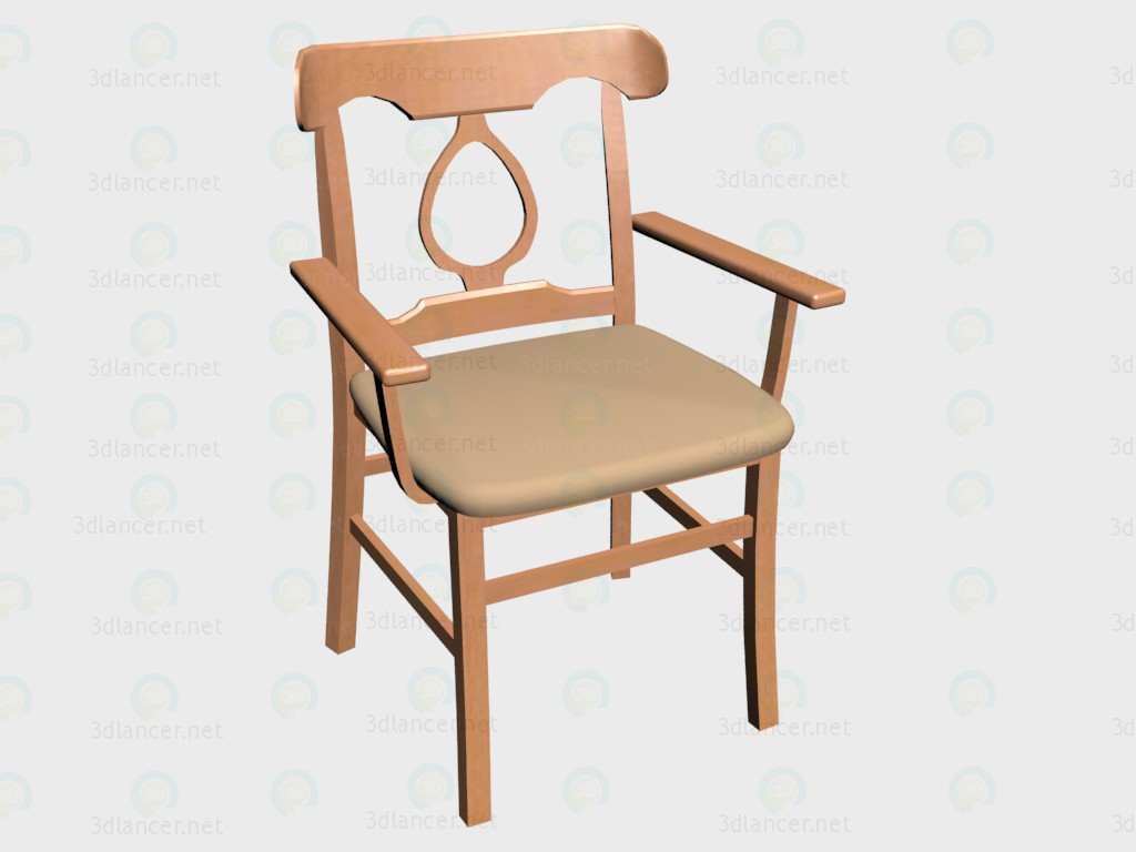 3d model Chair (b4060) VOX - preview
