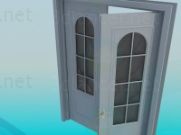 3d model Door Bivalve - preview