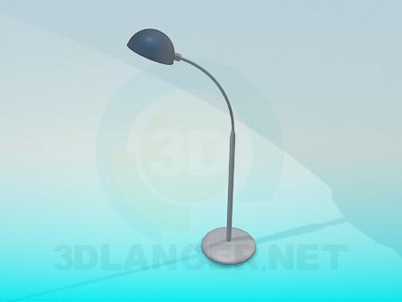 3d модель Металева настільна лампа – превью