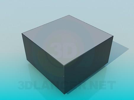 3d модель Тумба – превью