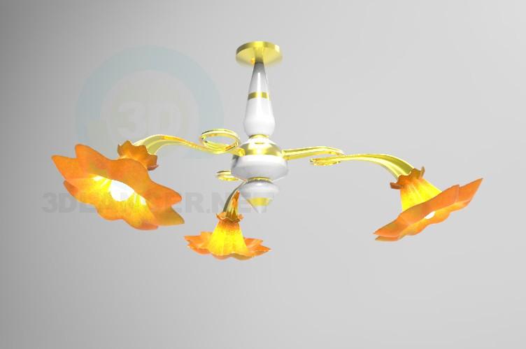 descarga gratuita de 3D modelado modelo Araña de tres luces