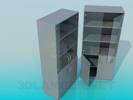 modelo 3D Presentar en la oficina - escuchar