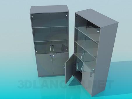 3d модель Витрина в офис – превью