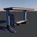 3d Bus stop Low-poly 3D model model buy - render