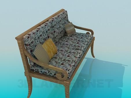 descarga gratuita de 3D modelado modelo Asiento de Banco