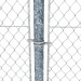 3d Wire mesh fence with barbed wire fence model buy - render