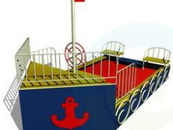Spielplatz-Schiff