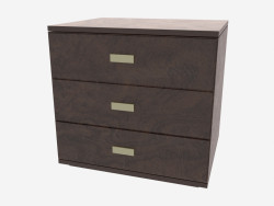 3 drawer pedestal Olimpo