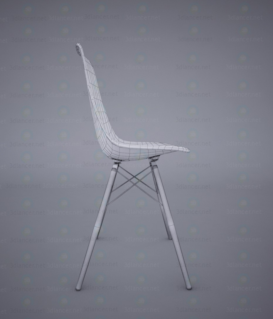 3d Eames chair model buy - render