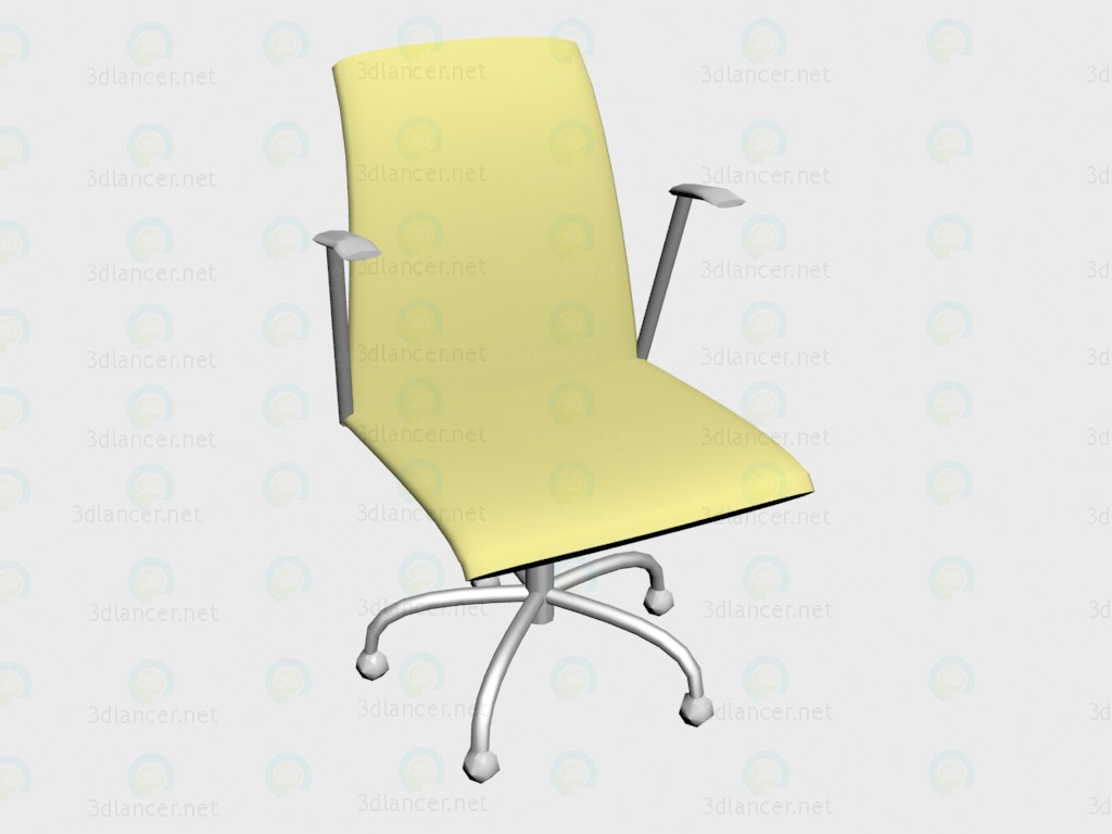 3d model Swivel armchair Olo VOX - preview