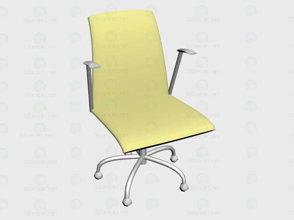 3d модель Вращающееся кресло Olo – превью