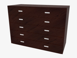 Chest of 5 drawers Olimpo