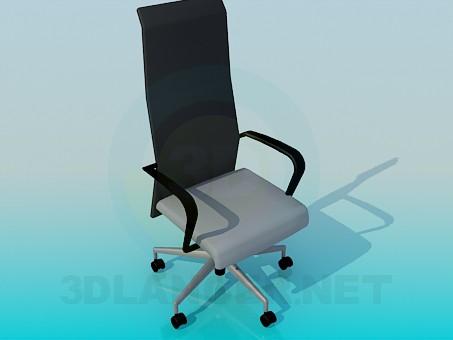 3d моделирование Кресло для босса модель скачать бесплатно