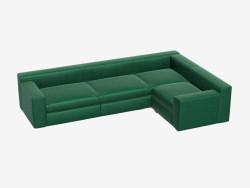 Canapé d'angle modulaire Hudson