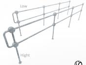 Pedestrian fence PO-2