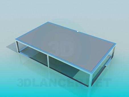 3d модель Низький стіл – превью