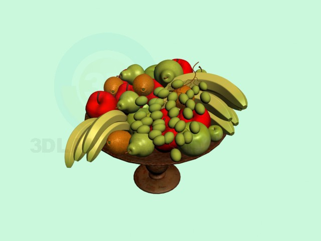 3d model Fruits - preview
