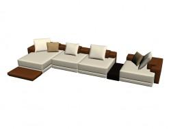 Composición de sofá Domino 2