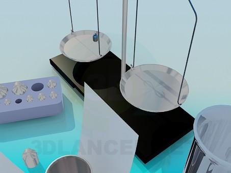 modelo 3D Libra - escuchar