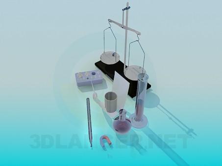 3d модель Весы – превью