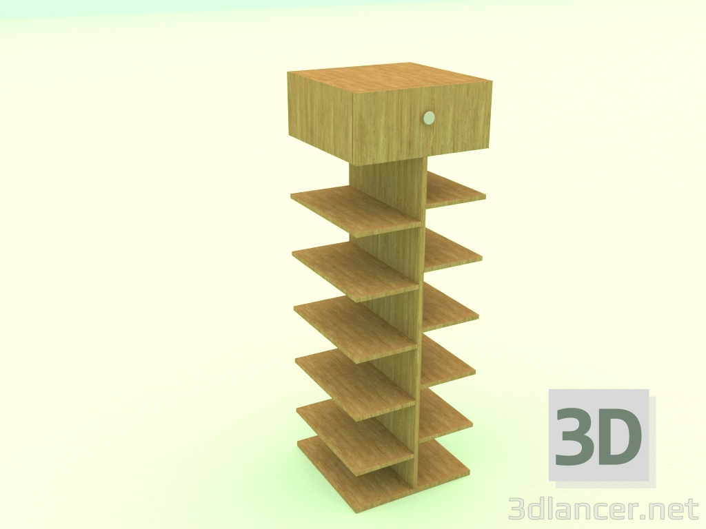 Modelo 3d Sapateira - preview
