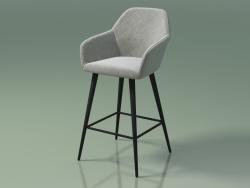 Cadeira de meia barra Antiba (112388, cinza escuro)