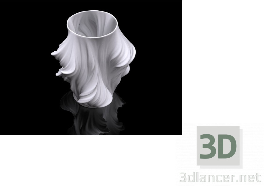 3d modeling Vase model free download