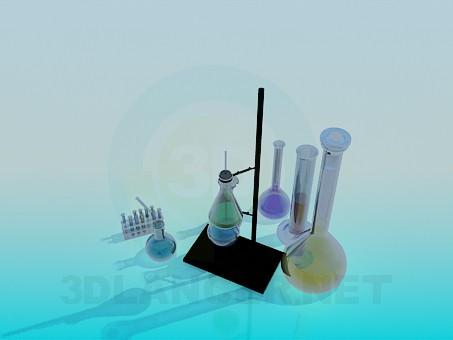 descarga gratuita de 3D modelado modelo Un conjunto de tubos