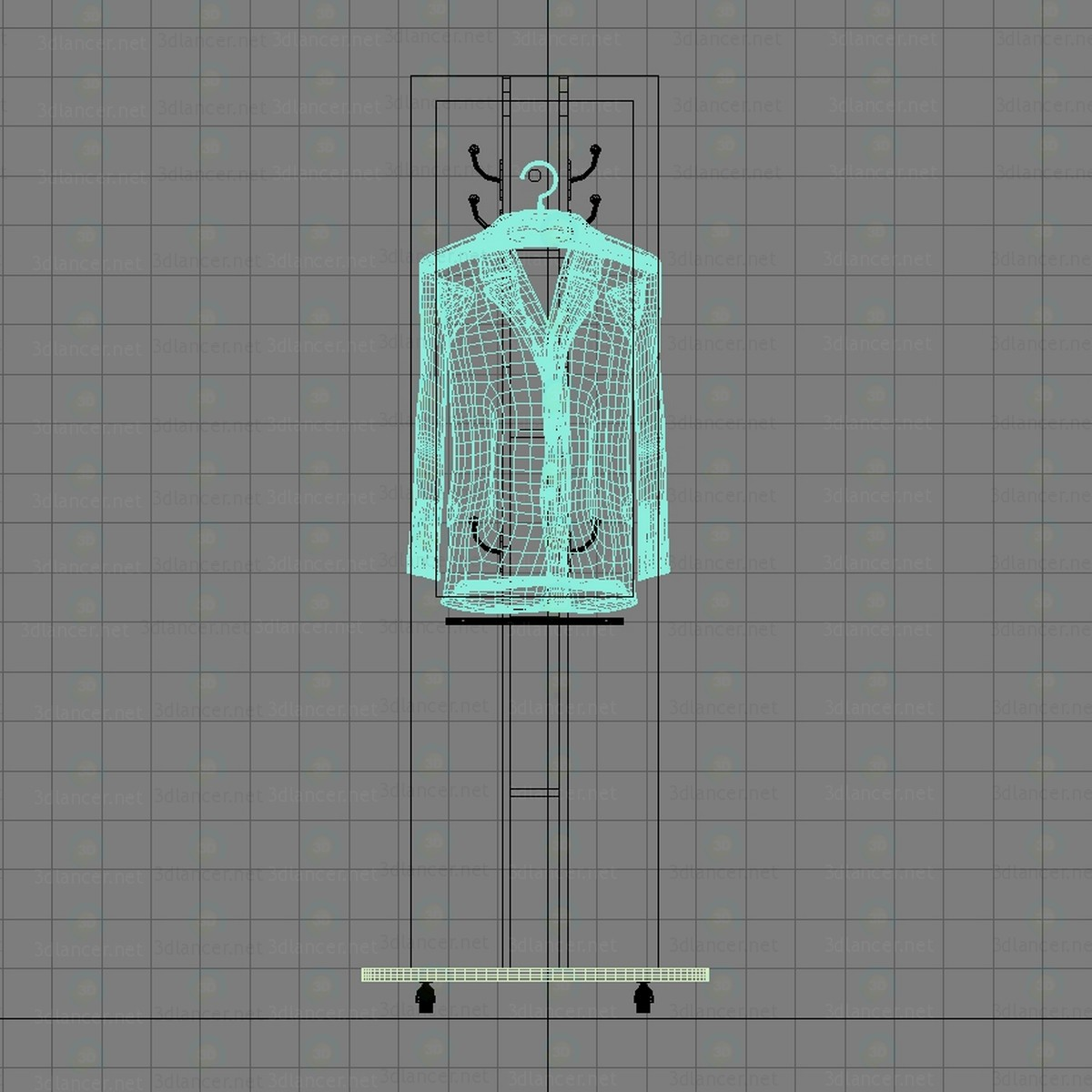3d Hanger mobile model buy - render