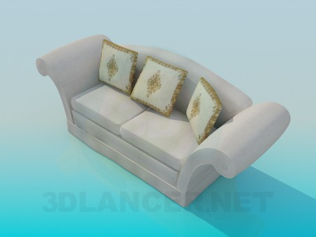 3d model Comfortable sofa - preview