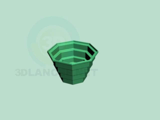 3d model Flowerpot - preview