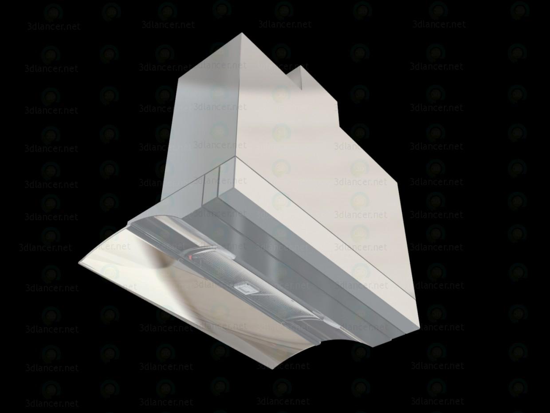 3d Cooker Hood Elica Glide SoftIX A-60 model buy - render